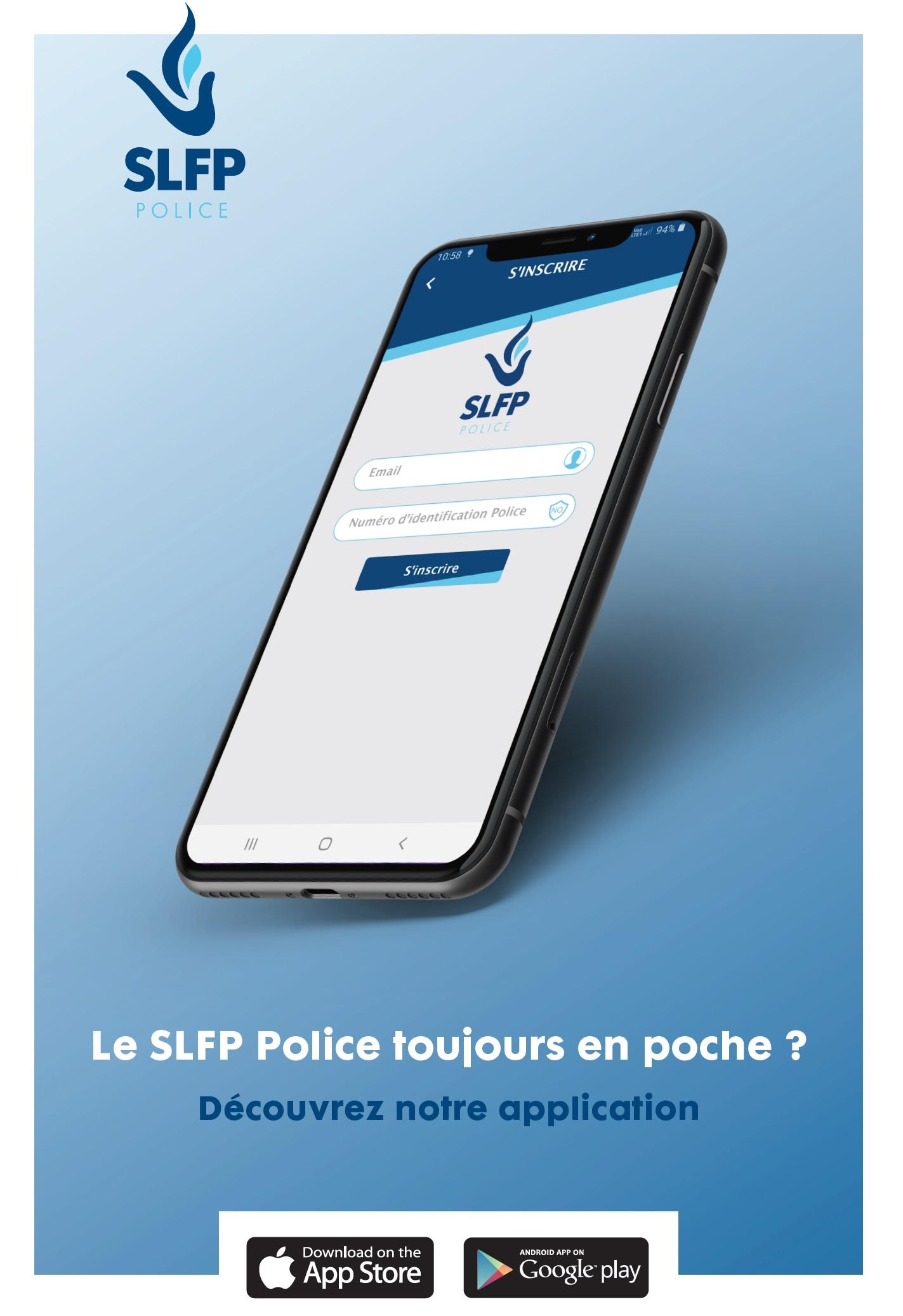 Le SLFP toujours en poche ? Découvrez notre application !