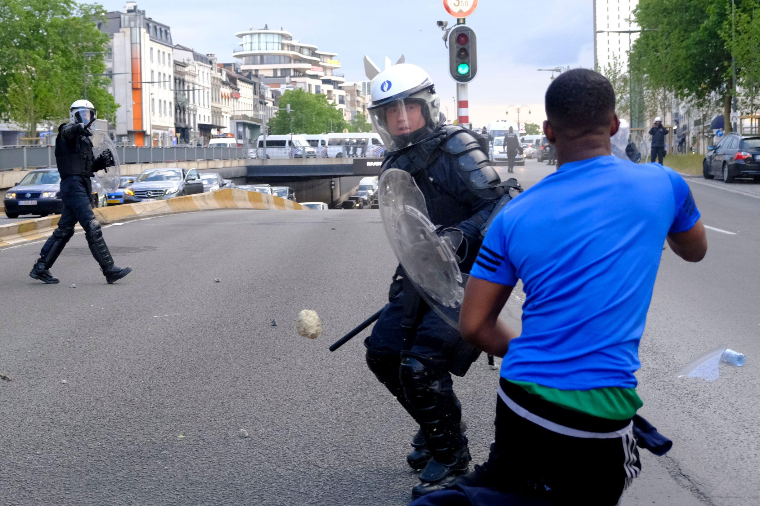 Violences contre les policiers